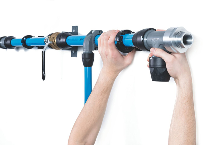 Rohrsysteme für Druckluft
